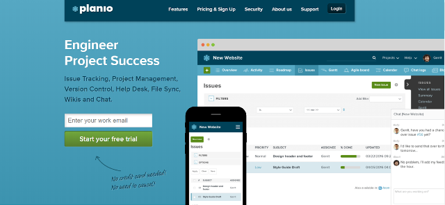 Planio Project Management Tool