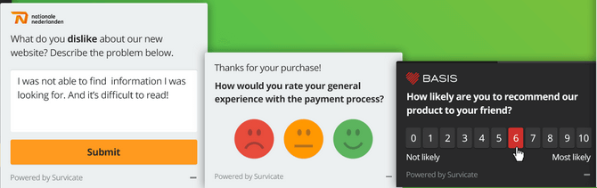 Popup Feedback and Survey Forms High-Converting Landing Pages