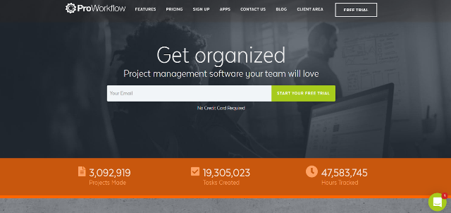 ProWorkflow Project Management Tool