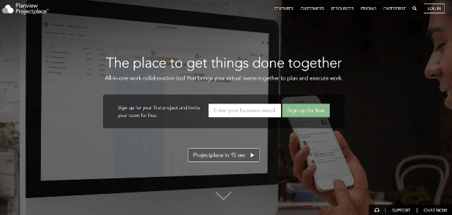 Projectplace Project Management Tool
