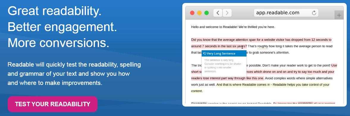 Readable Grammarly Alternatives