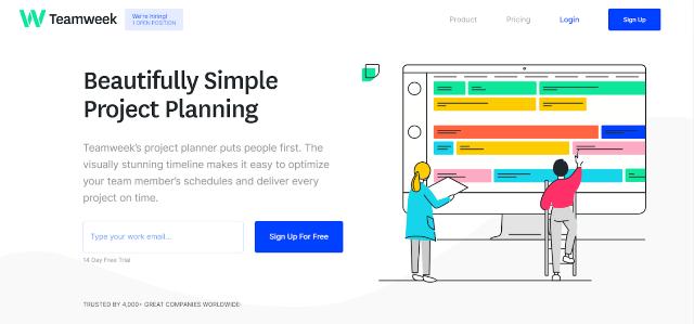 Teamweek Project Management Tool