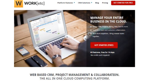 WORKetc Project Management Tool