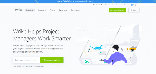 Wrike Project Management Tool