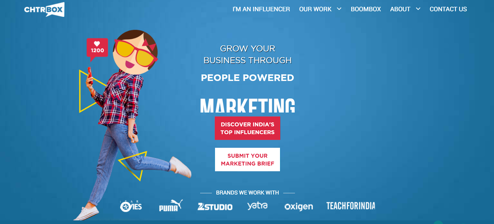Chtrbox Influencer Marketing Agency