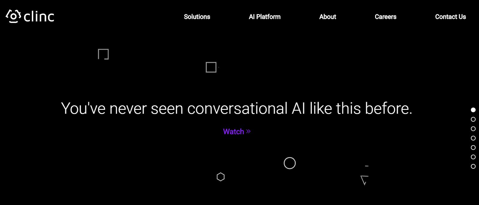 Clinc Conversational AI Platforms