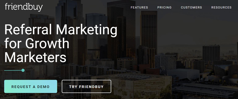 Friendbuy Referral Marketing Software Tool