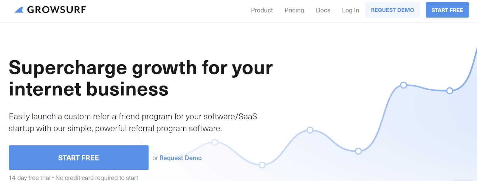GrowSurf Referral Marketing Software Tool