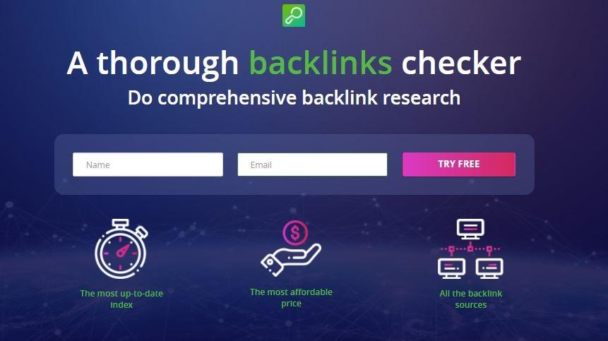 LinkAssistantBacklink Analysis Tool