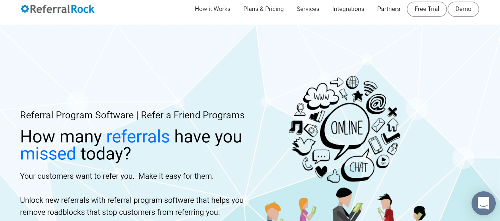 Referral Rock Referral Marketing Software Tool