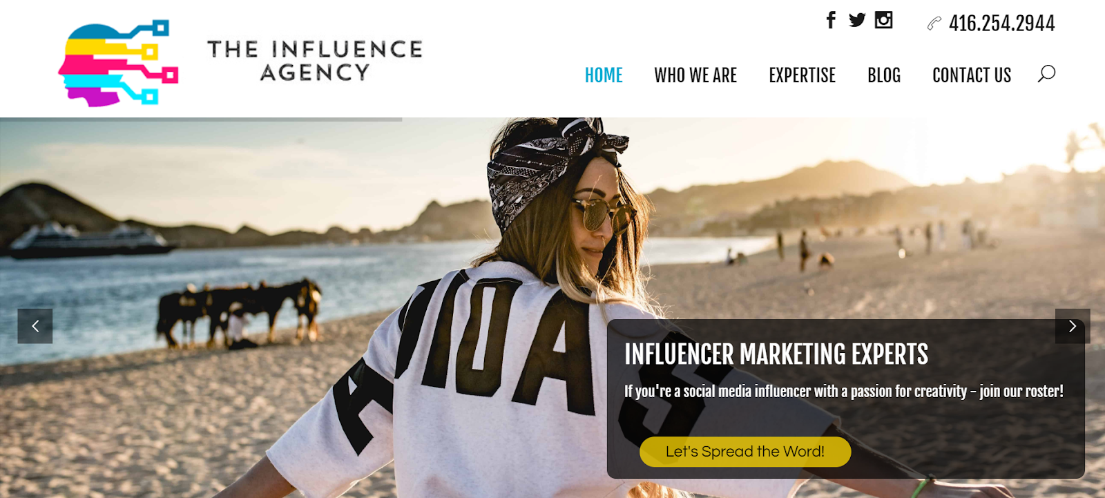 The Influence Agency Influencer Marketing Agency
