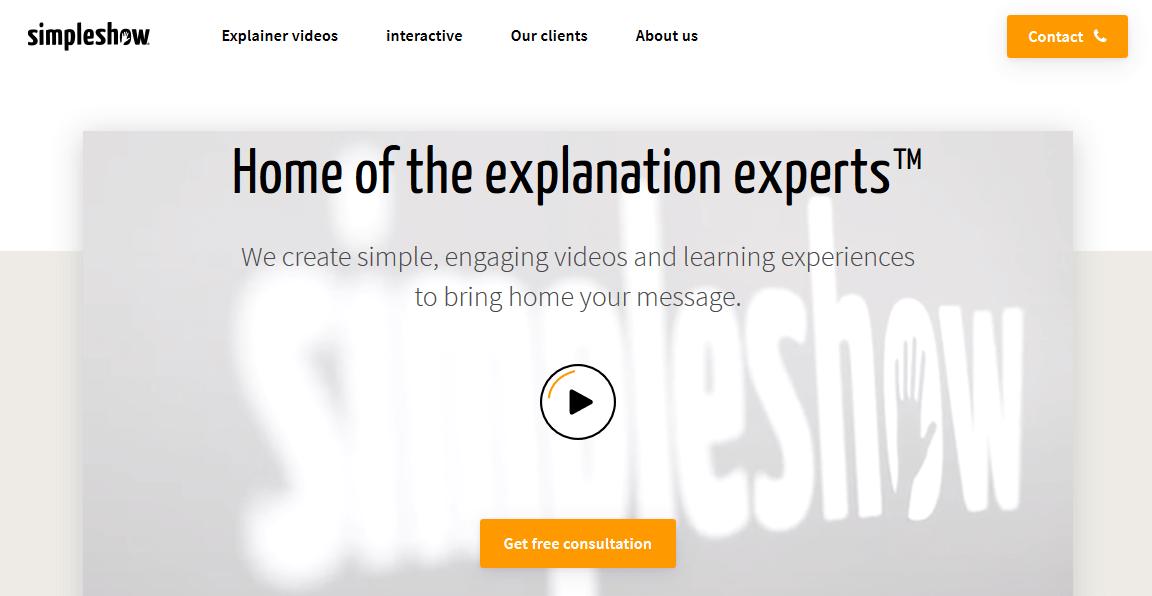 simpleshow Explainer videos