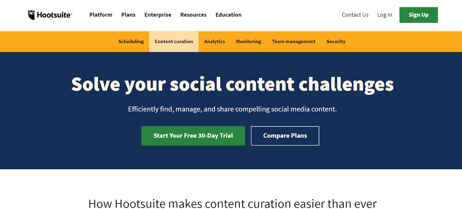Hootsuite BuzzSumo Alternatives