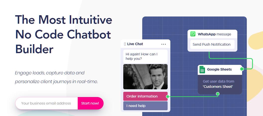 Landbot1 AI Chatbot Platform