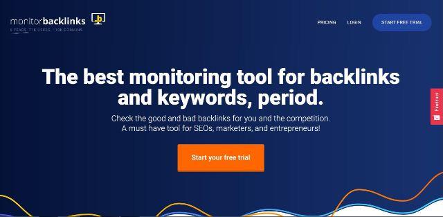 Monitorare i backlink Alternativa a SEMRush