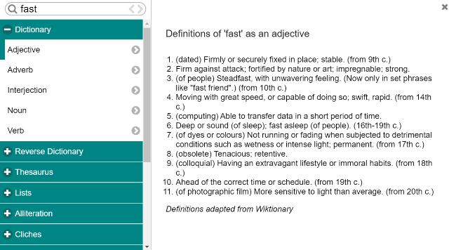 Contextual Thesaurus ProWritingAid review1