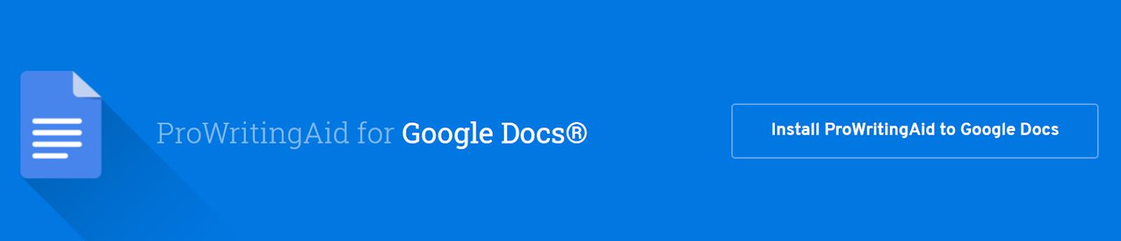 How to Use ProWritingAid with Google Docs ProWritingAid review