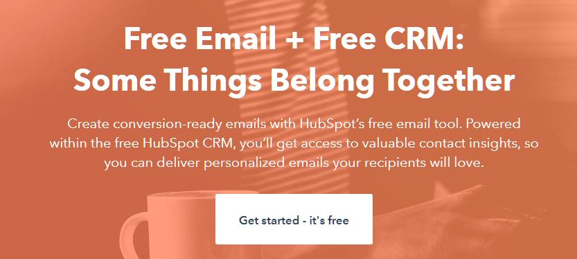 HubSpot Marketing Free Email