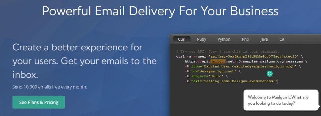 Mailgun-email-marketing-service