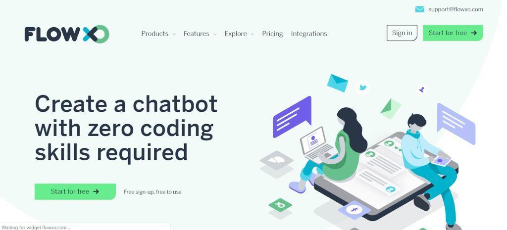 Flow-XO-Chatbot-for-Websites