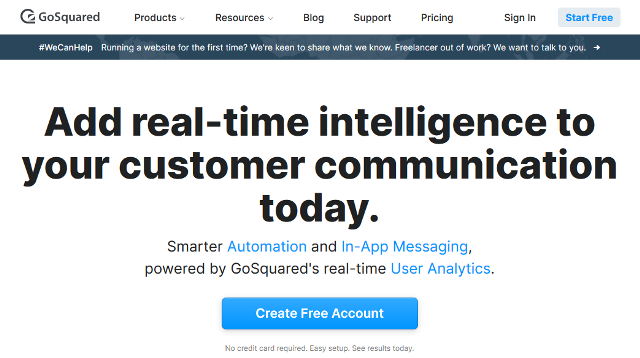 GoSquared Google Analytics alternatives