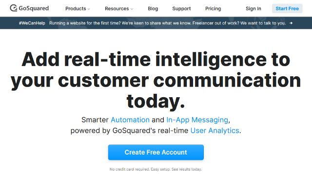 GoSquared Google Analytics alternatives