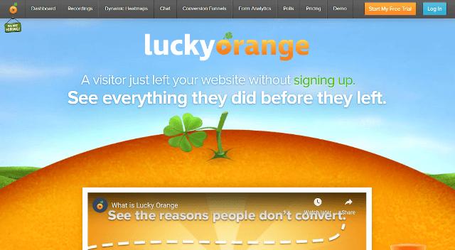 Lucky Orange Google Analytics alternatives