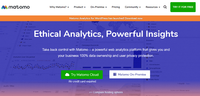 Matoma Google Analytics alternatives