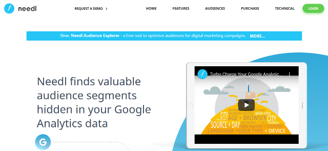 Needl Google Analytics alternatives