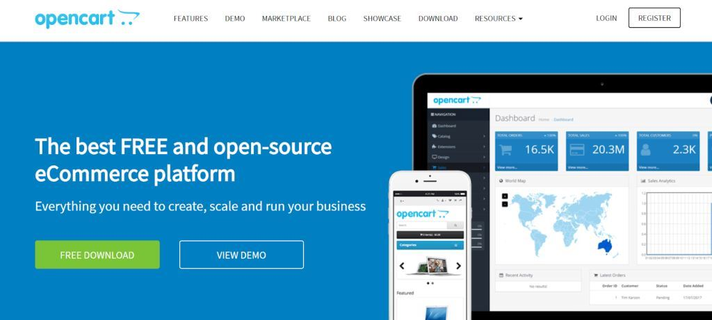 OpenCart-Best-eCommerce-tools