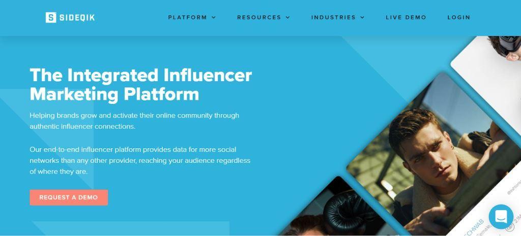 Sideqik-Influencer-Marketing-Platform