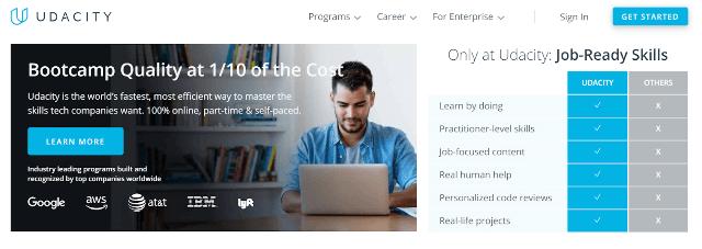 Udacity-Online-Course-Platform