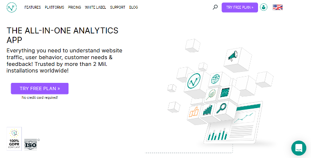 Visitor Analytics Google Analytics alternatives