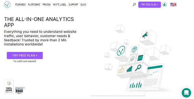 Visitor Analytics Google Analytics alternatives