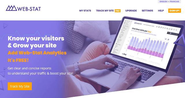 Web-Stat Google Analytics alternatives