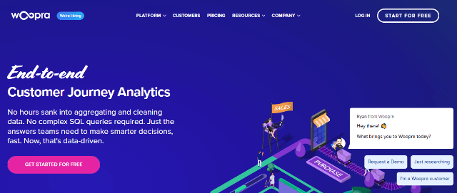 Woopra Google Analytics alternatives