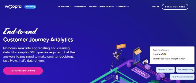 Woopra Google Analytics alternatives