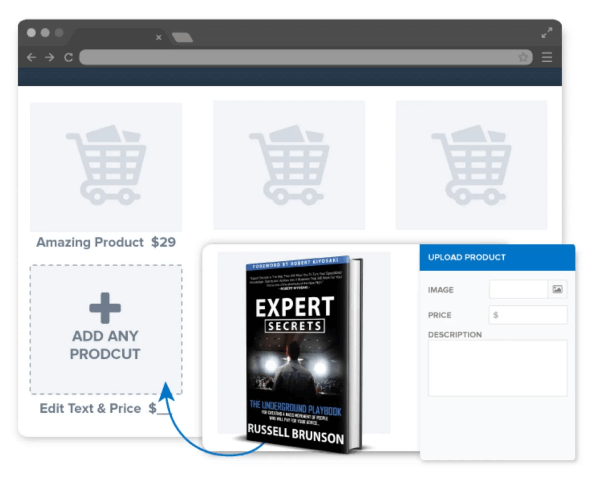 Built-In Shopping Cart Feature ClickFunnels vs Leadpages vs ConvertFlow