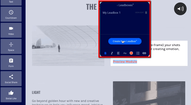 Leadbox and directly create one ClickFunnels vs Leadpages vs ConvertFlow