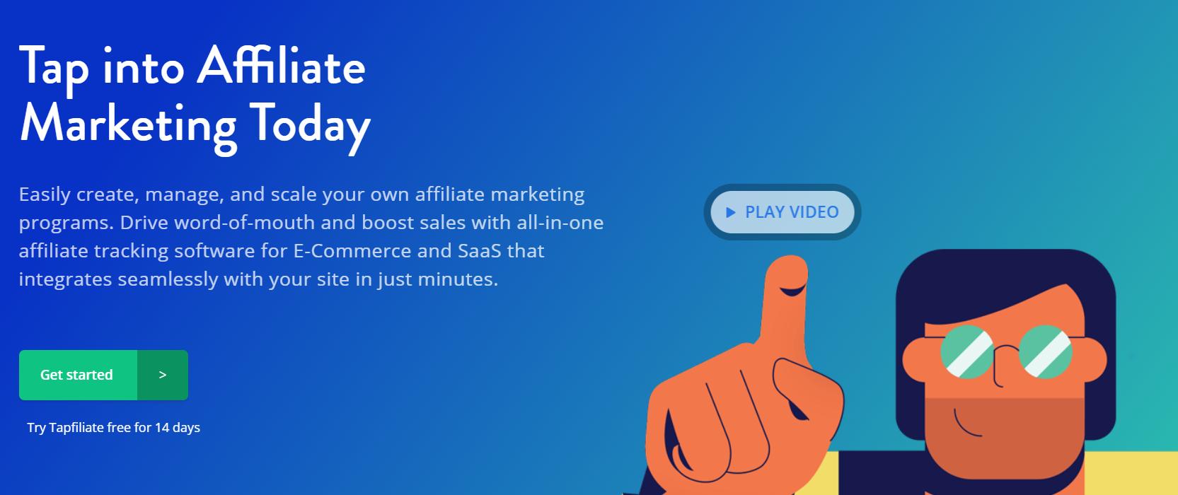 Tapfiliate Performance Marketing Platform