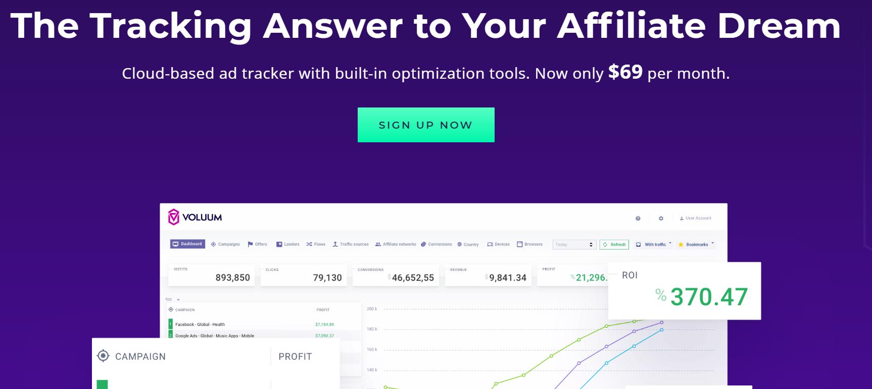 Voluum Performance Marketing Platform