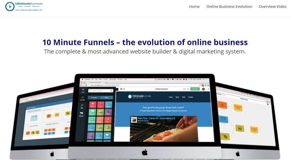 10 Minute Funnels ClickFunnels Alternative