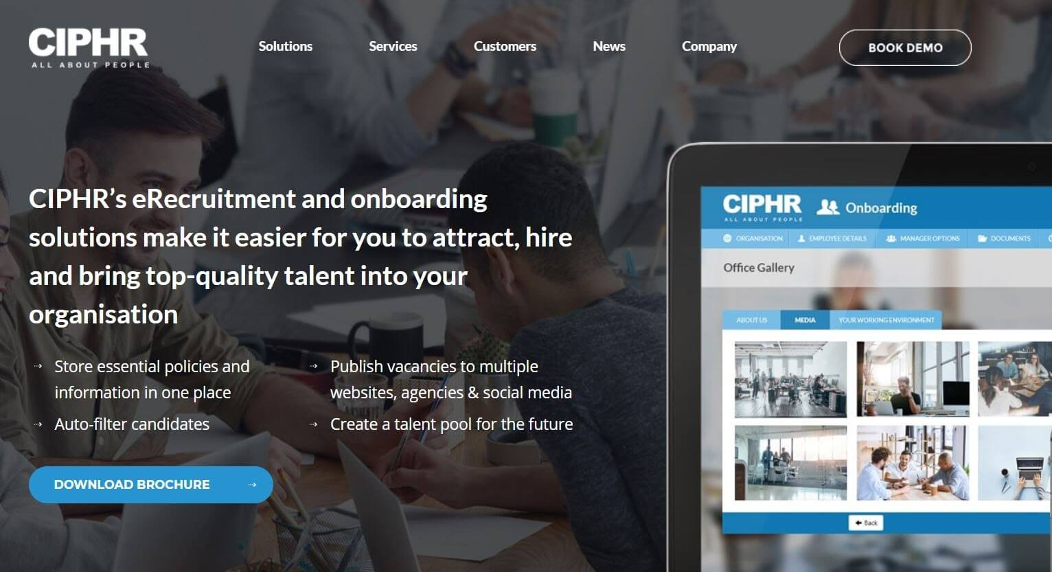 CIPHR Employee Onboarding Tool