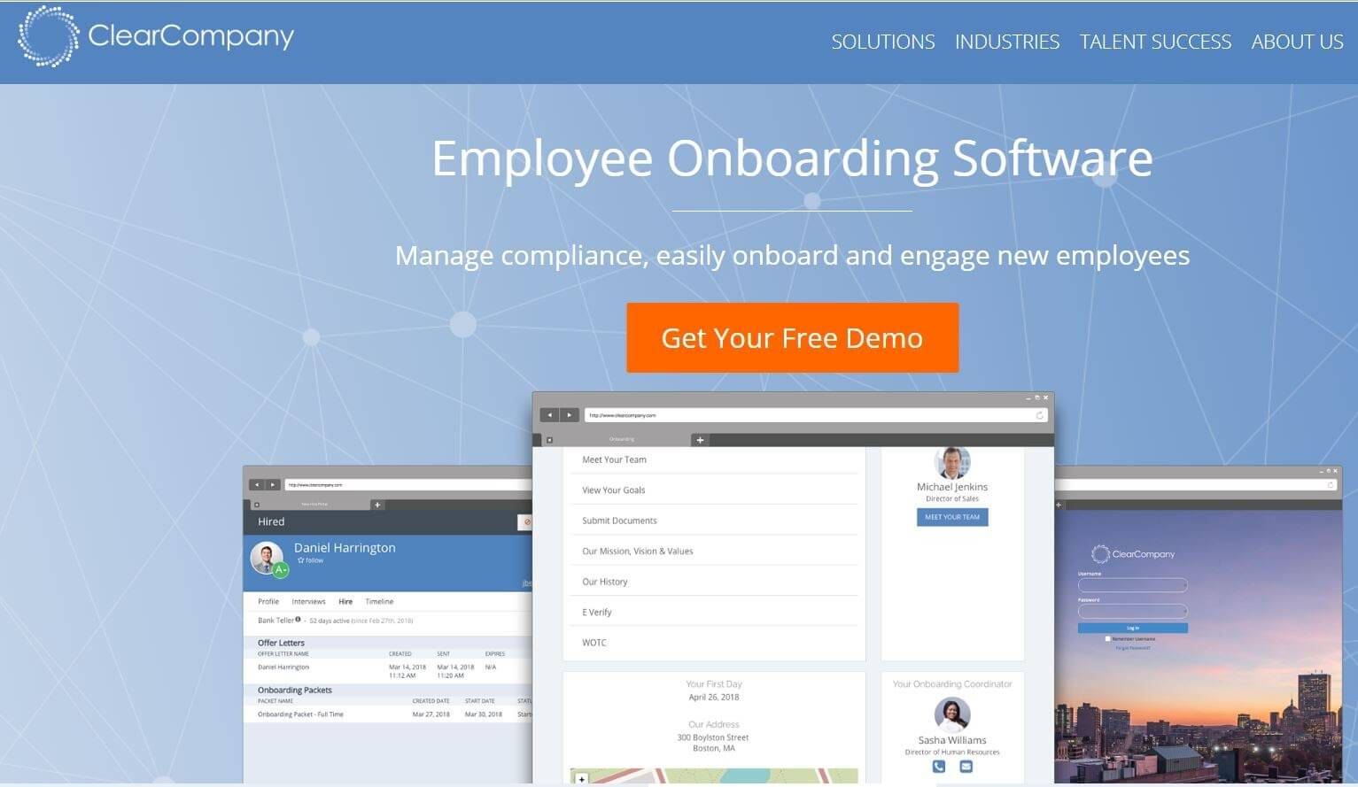 ClearCompany Employee Onboarding Tool