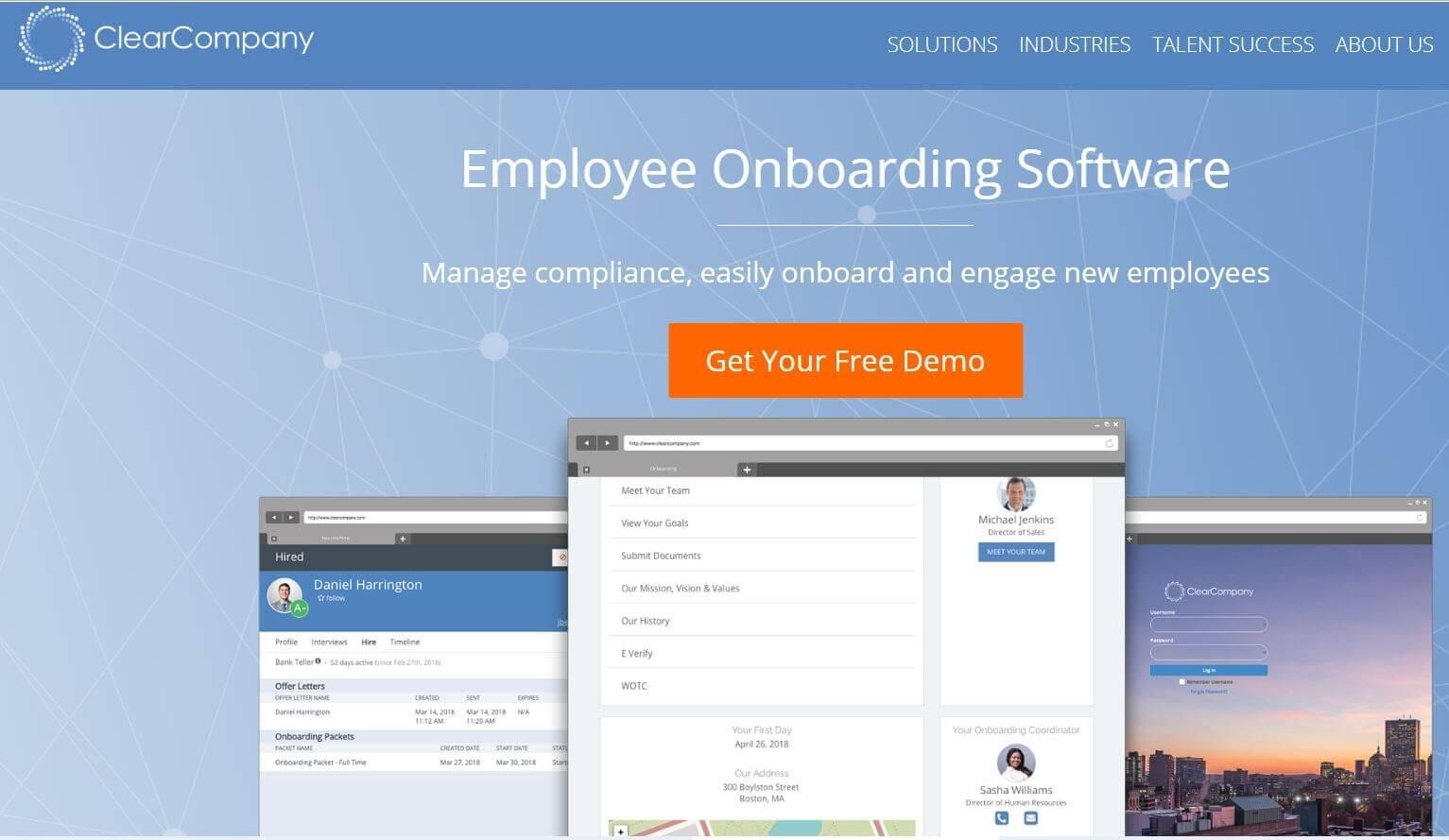 ClearCompany Employee Onboarding Tool