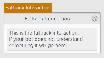Fallback Interaction