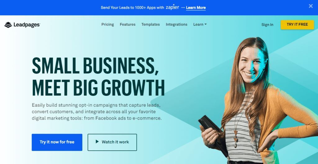Leadpages-sales-funnel-tools