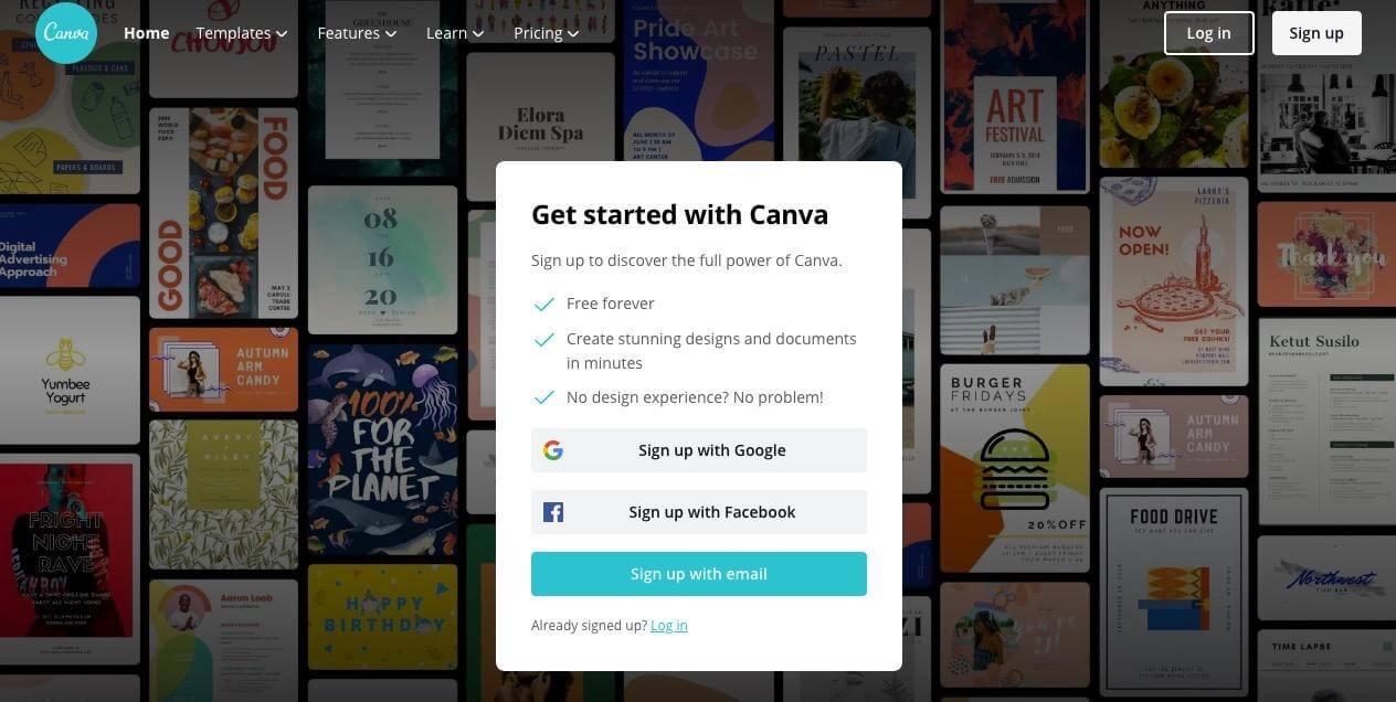 Canva Instagram Business Tools
