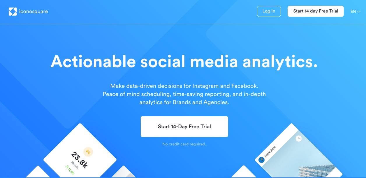 Iconosquare Instagram Business Tools