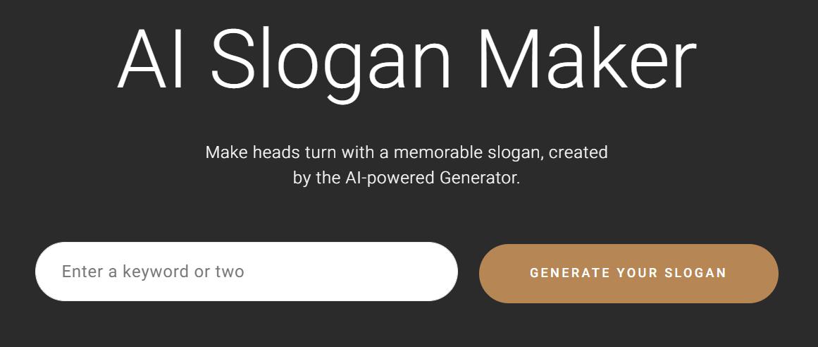 AI Slogan Maker